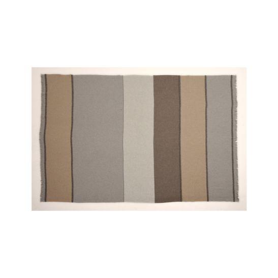 Eskimo Wohndecke Alvega 130 x 170 cm beige / grau / weiss, für In- und Outdoor