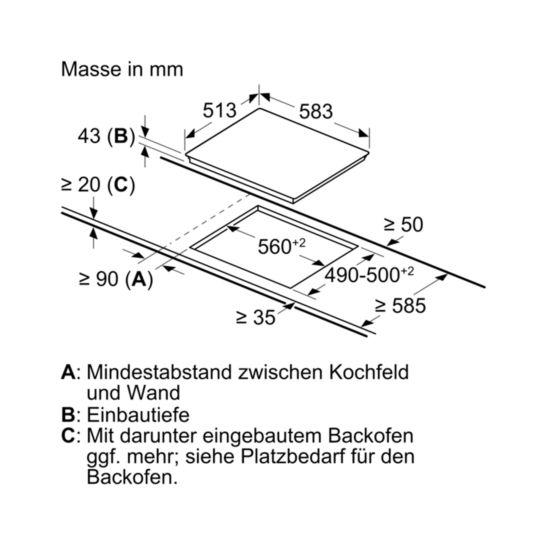 Bosch HEF010BR1 & NKE645GA1E Herdset