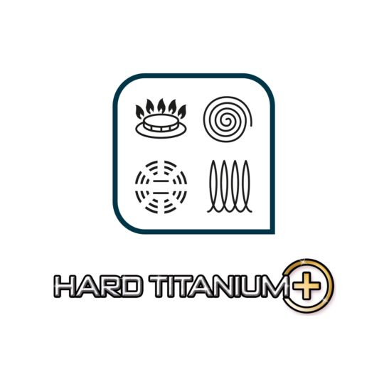 Tefal Bratpfanne HARD TITANIUM PLUS Ø 28 cm
