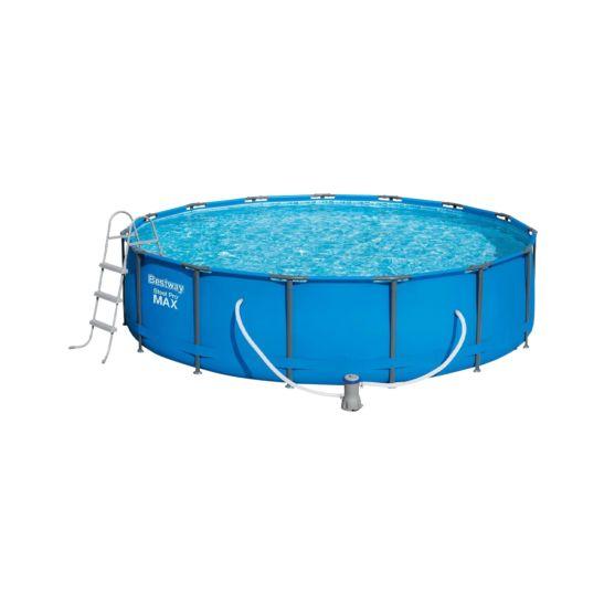 Bestway Pool Steel Pro MAX 457 x 107 cm mit Filterpumpe