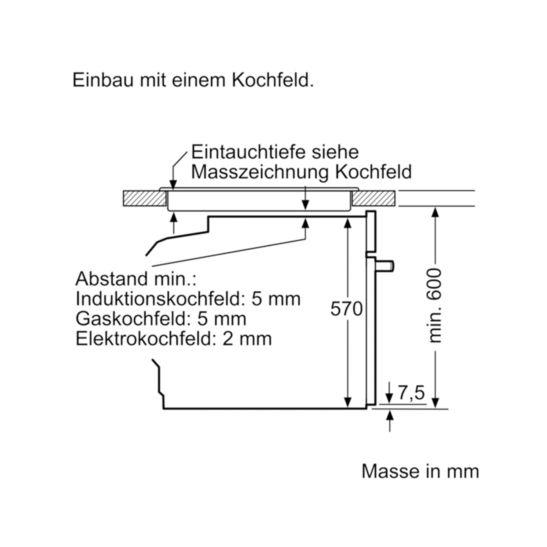 Siemens HE557GBS1C & EF645HNA2C Herdset