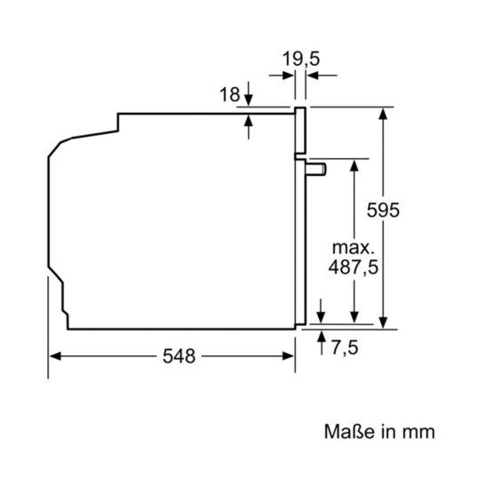 Bosch HMG636RS1 Einbaubackofen