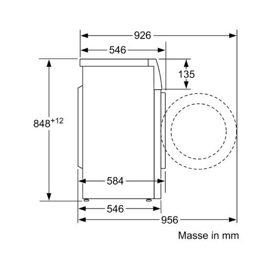 Bosch WAJ280H6 Waschmaschine 7 kg