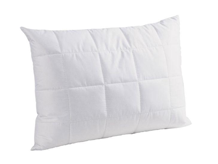 DOR Oreiller à 3 chambres 50 x 70 cm, laine vierge et fibres en polyester 660 g