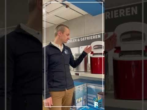 Kibernetik Machine à glace professionnelle en pépite 55 kg, glace fine