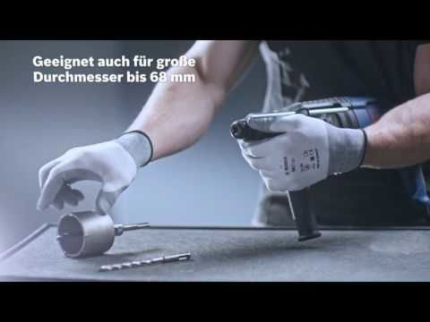 Bosch Bohrhammer GBH2-26F mit Schnellspannfutter und Koffer