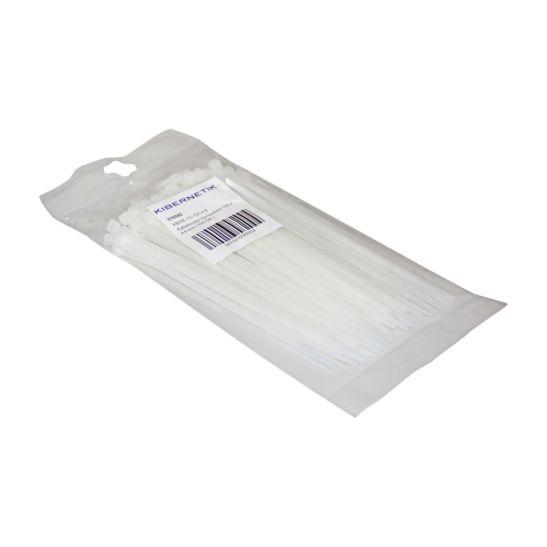 Kibernetik Serre-câbles 190 x 4.8 mm, transparent, 100 pièces