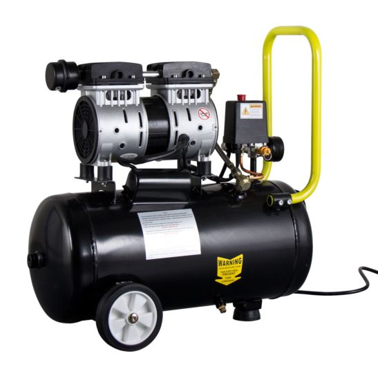 Ekström Druckluft Kompressor inkl. Schalldämpfer, 24 Liter