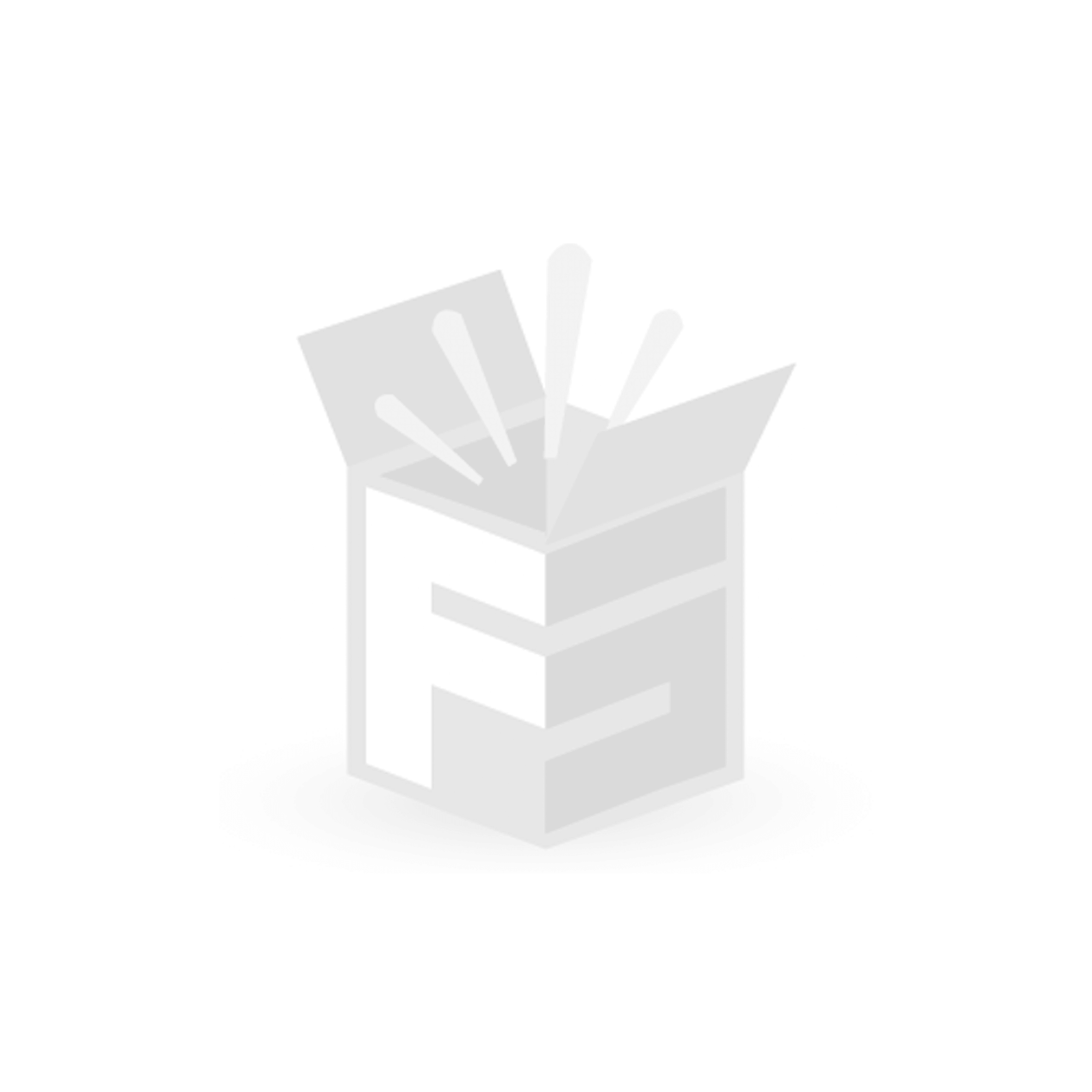 FS-STAR Weihnachtskugel LED blau / silber, 10 Stück