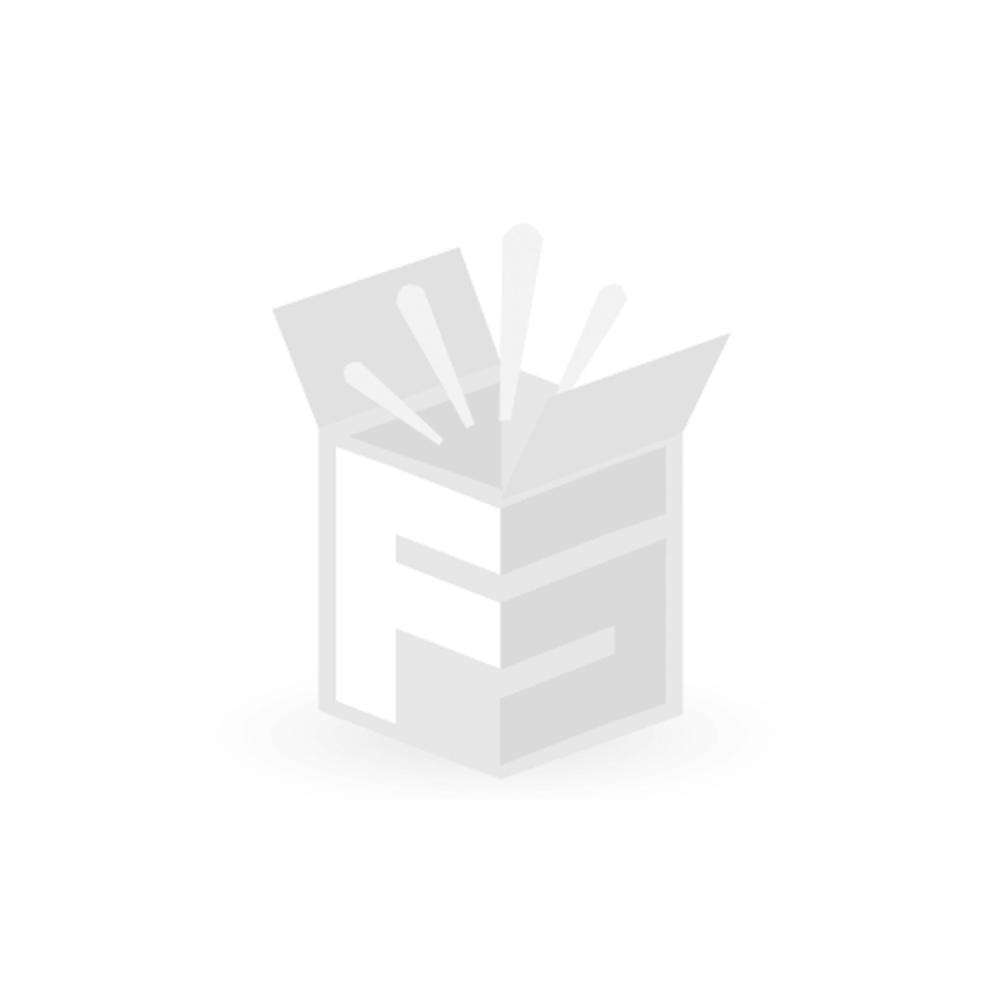 FS-STAR Drappe-housse coton 180 x 200 cm, gris